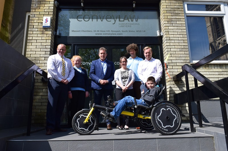 Conveyancing Foundation Announced That They Have Raised Enough Funds For a Specially Adapted Bicycle