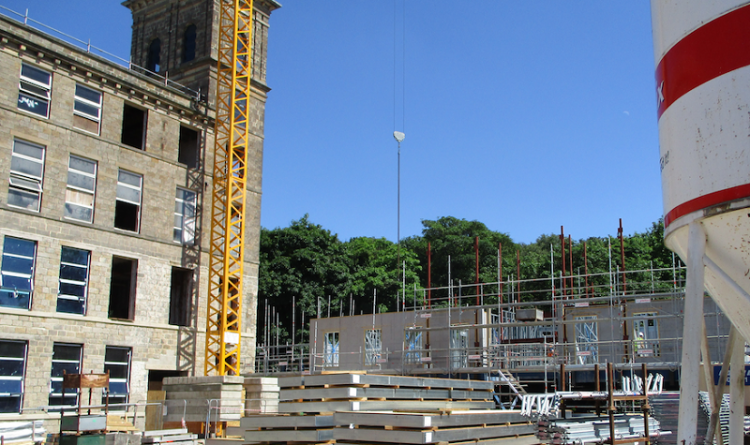 Redevelopment of Grade II Listed Building is Taking Place