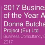 Donna Buchart Named Business Consultancy Director of the Year at The Businesswoman of the Year Awards 2017