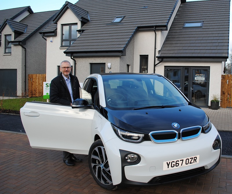 New Homes Come with Electric Cars Charging Points