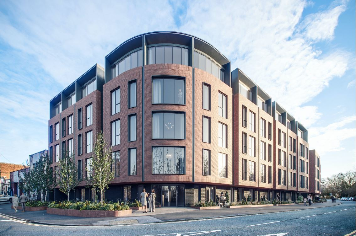 PLANS FOR APARTMENTS PUT THROUGH FOR MANCHESTER DEVELOPMENT