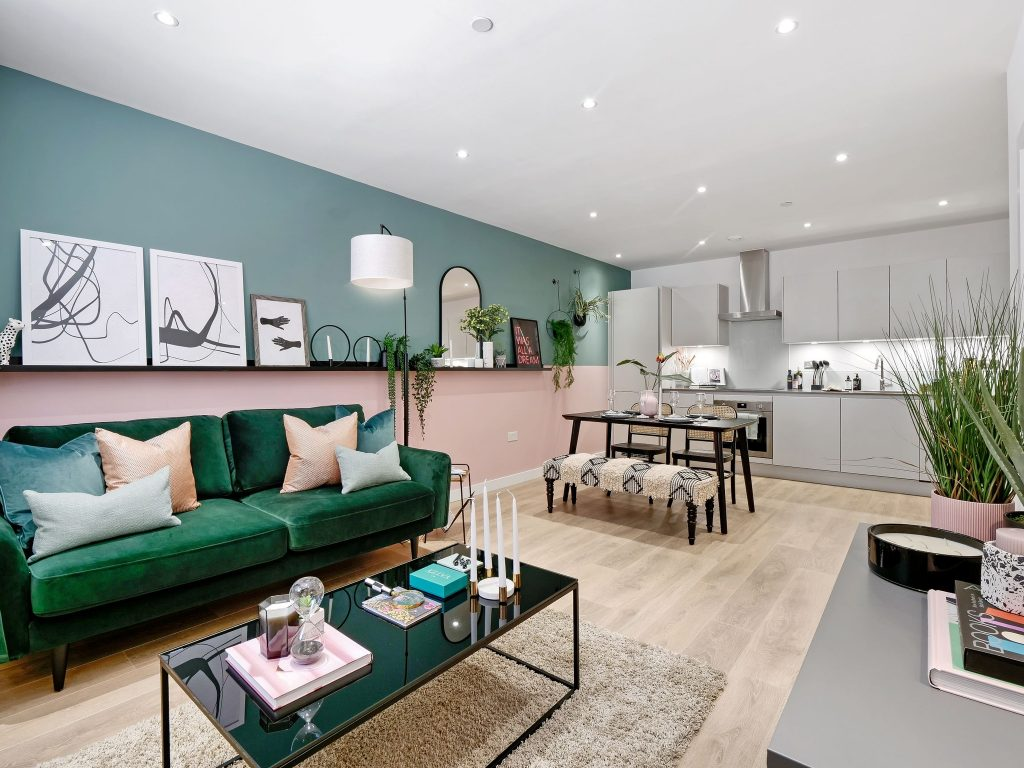 New apartments in Walthamstow
