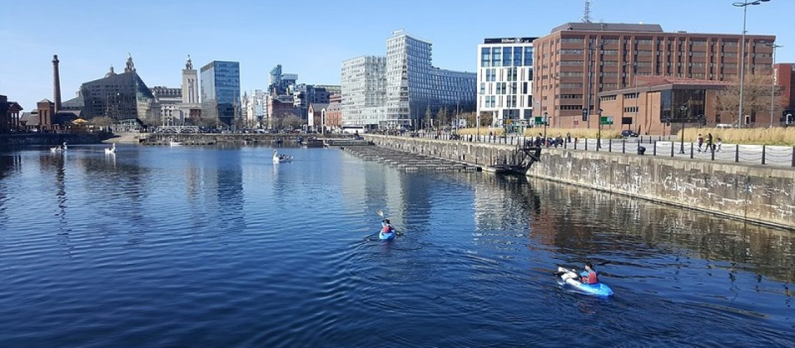 Building Work at Liverpool Waters Starts